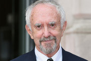 Jonathan Pryce attends the UK Premiere of 'The Wife' at Somerset House on August 9, 2018 in London, England.