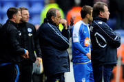 West Ham United Manager Avram Grant looks on during the Barclays Premier League match between Wigan Athletic and West Ham United at the DW Stadium on May 15, 2011 in Wigan, England.