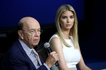 Wilbur Ross Donald Trump Holds CEO Town Hall On US Business Climate At White House