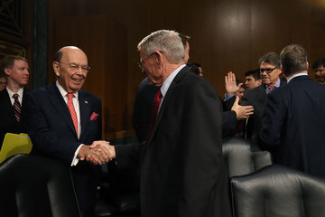 Wilbur Ross Transportation Secretary Chao And Commerce Secretary Wilbur Ross Testify To Senate Committee On Infrastructure
