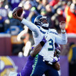 Everson Griffen and Russell Wilson Photos