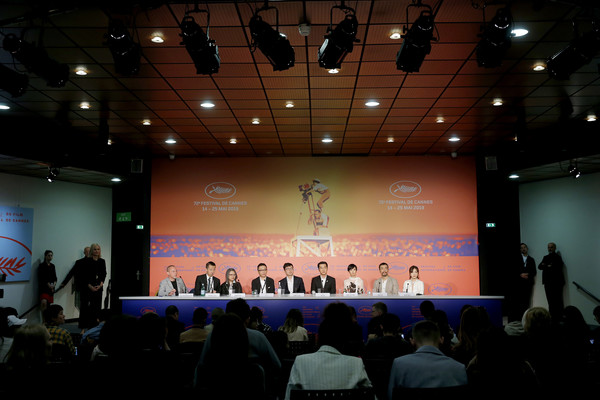 'The Wild Goose Lake (Le Lac Aux Oies Sauvages)' Press Conference - The 72nd Annual Cannes Film Festival - 1 of 2