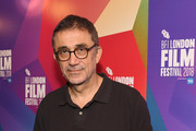"""Nuri Bilge Ceylan attends the UK Premiere of """"The Wild Pear Tree""""  during the 62nd BFI London Film Festival on October 16, 2018 in London, England."""
