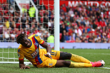 Wilfried Zaha Manchester United v Crystal Palace - Premier League