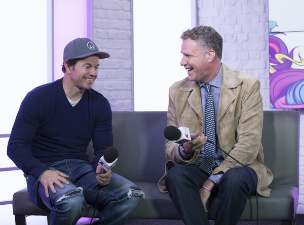 Will Ferrell and Mark Wahlberg Visit KISS FM