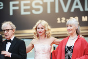 """(Left to Right) Director Woody Allen with actresses Naomi Watts and Gemma Jones attend the """"You Will Meet A Tall Dark Stranger"""" Premiere at the Palais des Festivals during the 63rd Annual Cannes Film Festival on May 15, 2010 in Cannes, France."""