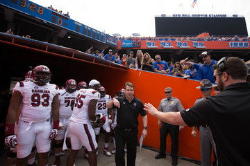 Will Muschamp South Carolina v Florida