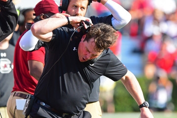 Will Muschamp South Carolina v Georgia