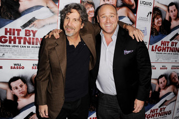 """Will Sasso Peter Farrelly Premiere Of """"Hit By Lightning"""" - Red Carpet"""