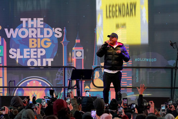 Will Smith The World's Big Sleep Out Takes Place On December 7th, 2019 In New York City's Times Square
