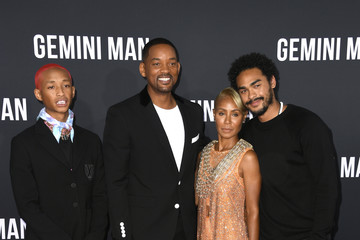 Will Smith Jada Pinkett Smith Paramount Pictures' Premiere Of 'Gemini Man' - Arrivals