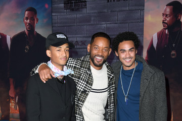 """Will Smith Jaden Smith Premiere Of Columbia Pictures' """"Bad Boys For Life"""" - Arrivals"""
