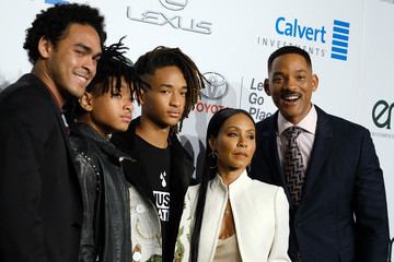 Will Smith Willow Smith 26th Annual EMA Awards - Arrivals