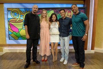 """Will Smith Celebrities On The Set Of Univision's """"Despierta America"""""""