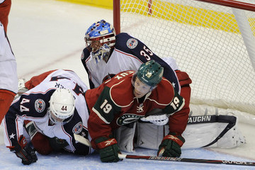 Will Weber Columbus Blue Jackets v Minnesota Wild