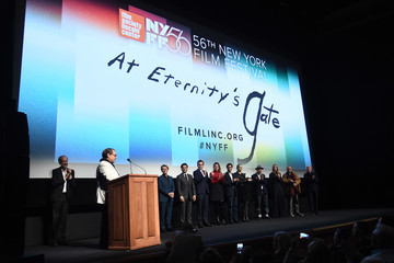 Willem Dafoe Jean-Claude Carriere 56th New York Film Festival - 'At Eternity's Gate' - Intro