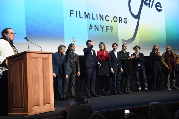 56th New York Film Festival - 'At Eternity's Gate' - Intro [at eternitys gate,intro,event,public speaking,speech,orator,stage equipment,convention,company,news conference,spokesperson,tourism,julian schnabel,willem dafoe,stella schnabel,benoit delhomme,tatiana lisovkaia,rupert friend,vladimir consigny,new york film festival]
