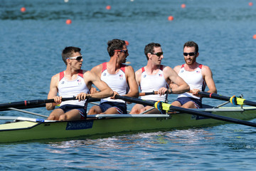 William Daly Samsung World Rowing Cup III: Day 1