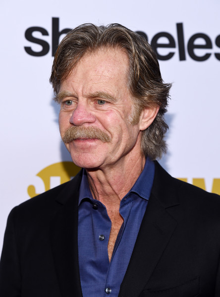 EMMY For Your Consideration Event For Showtime's 'Shameless' - Arrivals [shameless,premiere,white-collar worker,facial hair,fictional character,smile,moustache,arrivals,william h. macy,emmy,california,los angeles,linwood dunn theater,showtime,for your consideration,event]