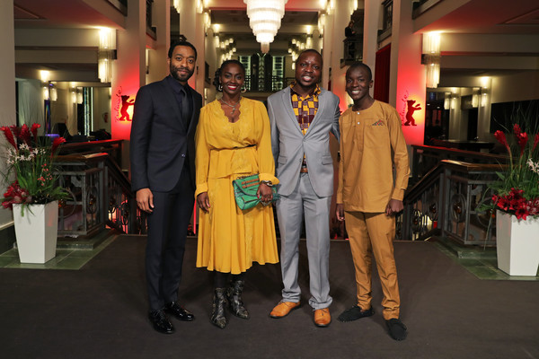 'The Boy Who Harnessed The Wind' Premiere - 69th Berlinale International Film Festival [the boy who harnessed the wind,film,event,fashion,ceremony,chiwetel ejiofor,william kamkwamba,aissa maiga,maxwell simba,l-r,premiere,berlinale international film festival,screening]