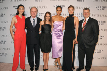 William P. Lauder Arizona Muse Arrivals at the Estee Lauder Fragrance Party