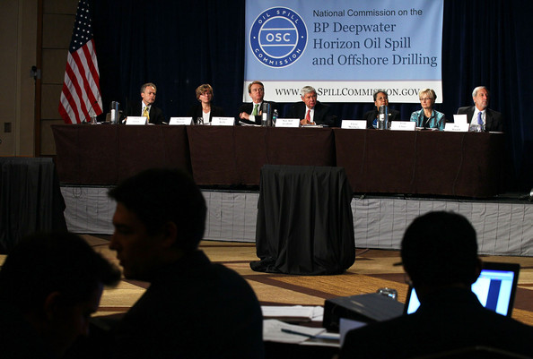 Deepwater Horizon Oil Spill Commission Holds Hearing And News Conference