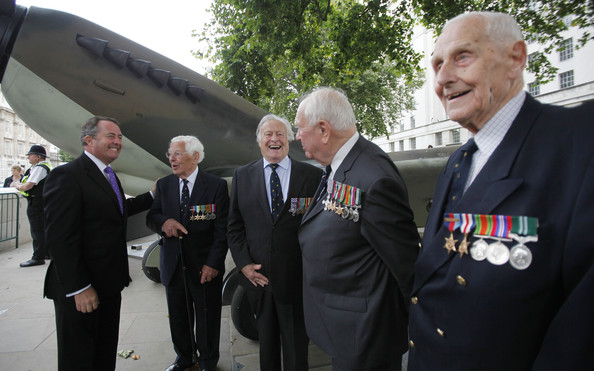 Veterans Commemorate The 70th Anniversary Of The Battle Of Britain