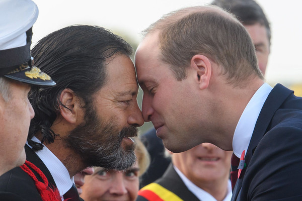 The Duke of Cambridge Attends New Zealand National Commemoration for the Battle of Passchendaele