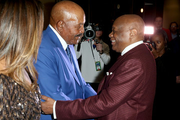 Willie Brown Haute Living and Louis XIII Celebrate Jim Brown's 80th Birthday
