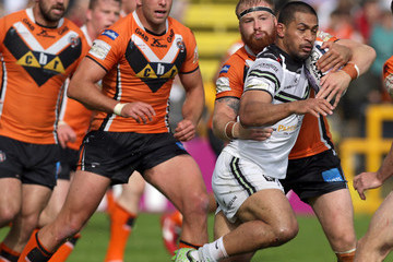 Willie Isa Castleford Tigers v Widnes Vikings - First Utility Super League