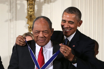 Willie Mays President Obama Presents the Presidential Medal of Freedom Awards