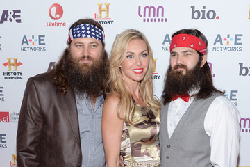 Willie Robertson Jep Robertson Arrivals at the A+E Networks Upfront