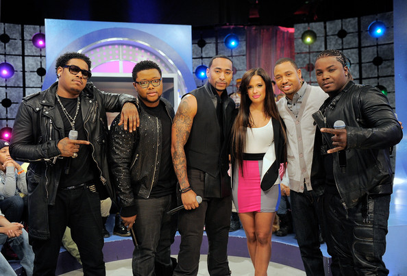 "Day 26 Visits BET's ""106 & Park"""