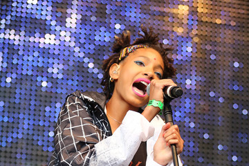 Willow Smith Celebs Attend the New Look Wireless Festival