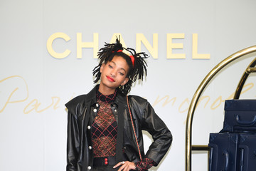 Willow Smith CHANEL Metiers D'art Collection Paris Cosmopolite - Photocall