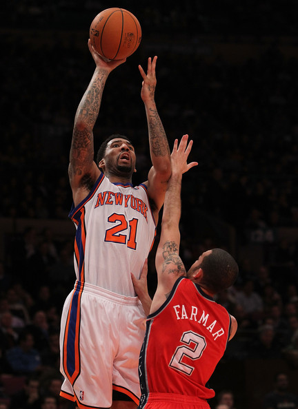 Wilson Chandler Pictures - New Jersey Nets v New York ...