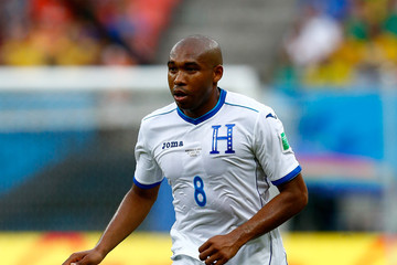 Wilson Palacios Honduras v Switzerland: Group E