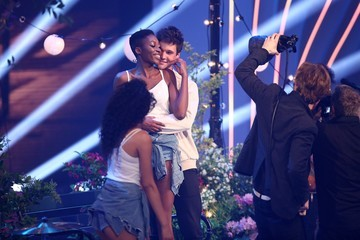 Wincent Weiss Germany's 'Next Top Model' Finals In Duesseldorf