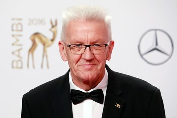 Winfried Kretschmann Winners Board - Bambi Awards 2016
