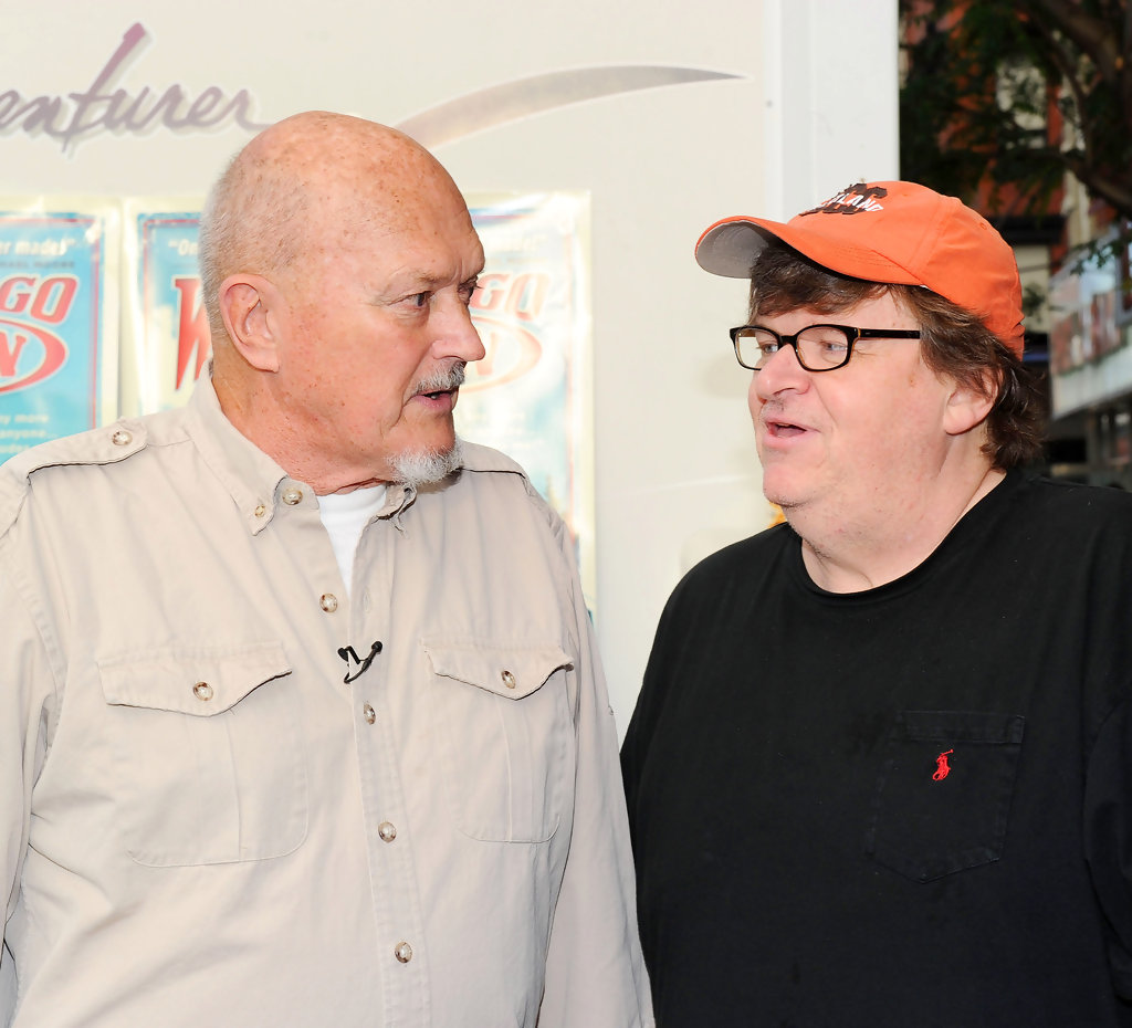 Michael Moore and Jack Rebney Photos - \