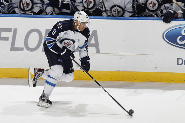 Evander Kane in Winnipeg Jets v Florida Panthers - Zimbio