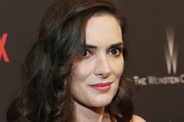 Winona Ryder The Weinstein Company and Netflix Golden Globes Party Presented With FIJI Water