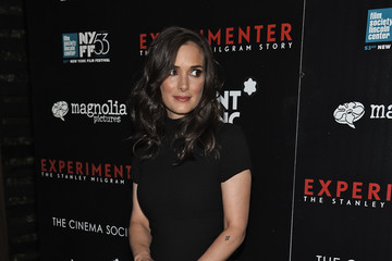 Winona Ryder New York Film Festival Premiere of Magnolia Pictures' Experimenter