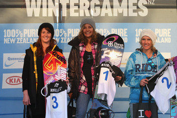 Silvia Mittermueller Winter Games NZ - Day 12: Snowboard Big Air