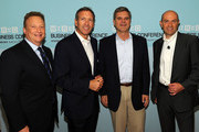 Howard Schultz and Chris Andersen (editor) Photos Photo