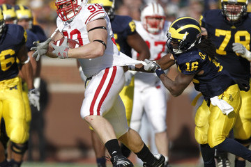 Denard Robinson J.J. Watt Wisconsin v Michigan