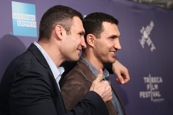 "Wladimir Klitschko Professional Boxers Vitali Klitschko and Wladimir Klitschko attend the premiere of ""Klitschko"" during the 2011 Tribeca Film Festival at SVA Theater on April 24, 2011 in New York City."