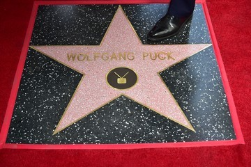Wolfgang Puck Wolfgang Puck Is Honored With a Star on the Hollywood Walk of Fame
