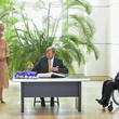 Wolfgang Schaeuble King Willem-Alexander Of The Netherlands And Queen Maxima Visit Berlin - Day Two