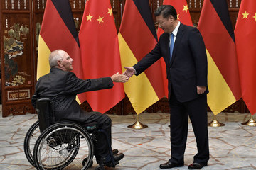 Wolfgang Schauble 2016 G20 State Leaders Hangzhou Summit